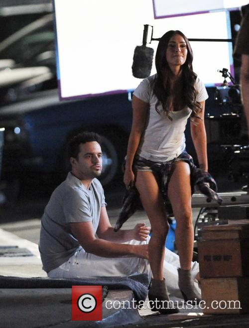 Megan Fox and Jake Johnson 1