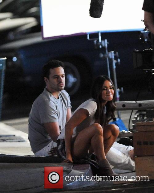 Megan Fox and Jake Johnson 6