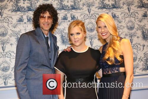 Howard Stern, Amy Schumer and Beth Ostrosky Stern 2
