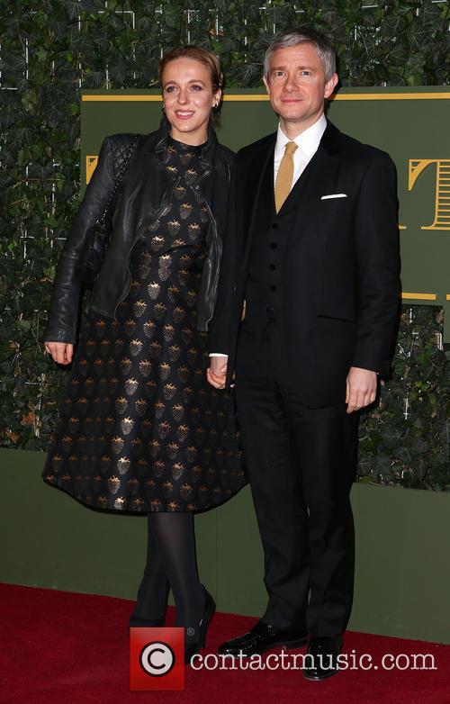 Amanda Abbington and Martin Freeman 1