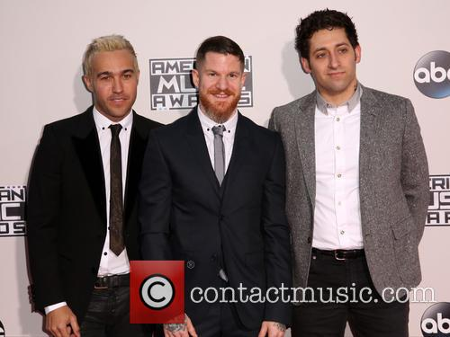 Pete Wentz, Andy Hurley, Joe Trohman and Fall Out Boy 3