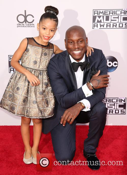 Shayla Somer Gibson and Tyrese Gibson