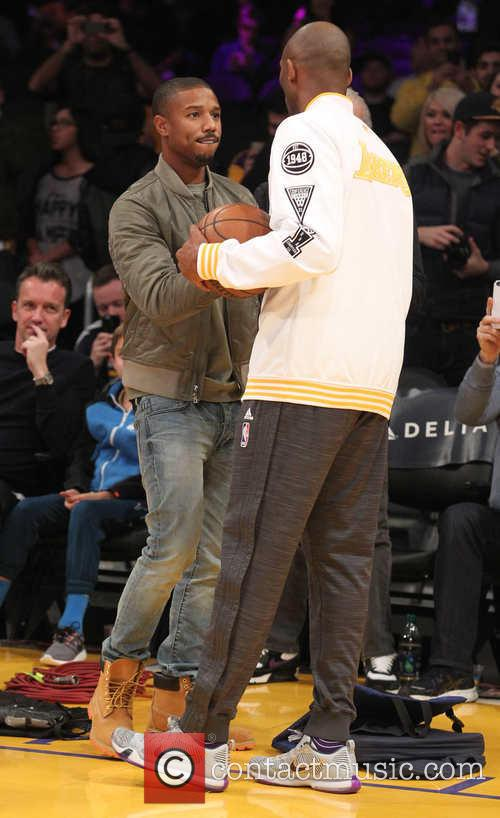 Michael B. Jordan and Kobe Bryant 11