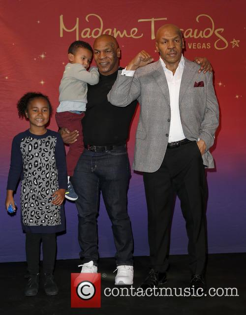 Mike Tyson and Family 9