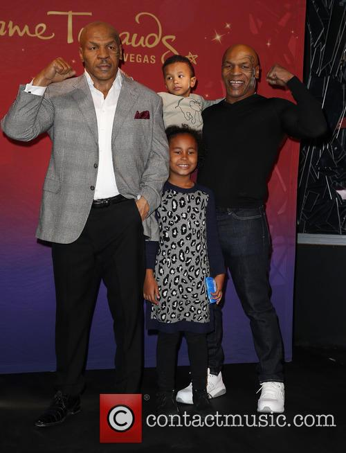 Mike Tyson and Family 11