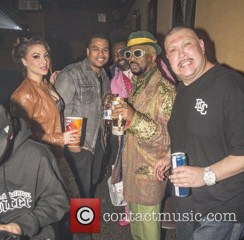 Omar Gooding, Bishop Don Magic Juan, Dj Krazy and Big Marvin