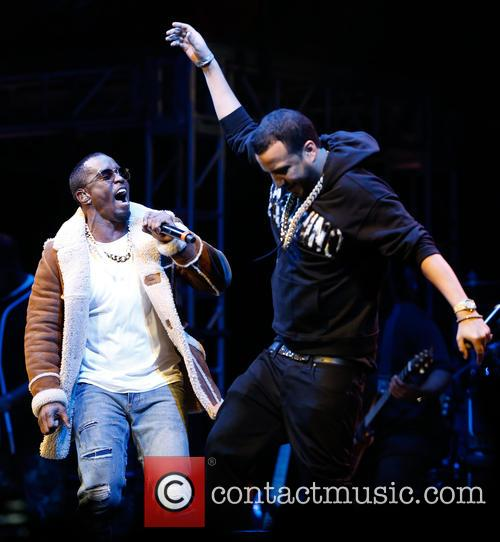 Sean Combs, French Montana and P. Diddy 6