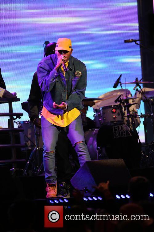 Chris Brown and Rick Ross 9