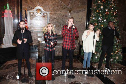 Pentatonix, Avi Kaplan, Scott Hoying, Kristie Maldonado, Mitch Garssi and Kevin Olusola