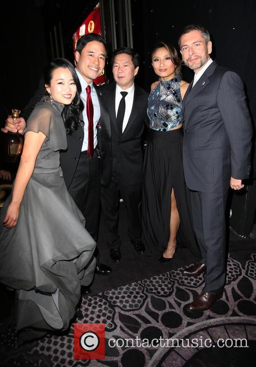 Diana Bang, Randall Park, Ken Jeong, Jeannie Mai and Laurent Cutier