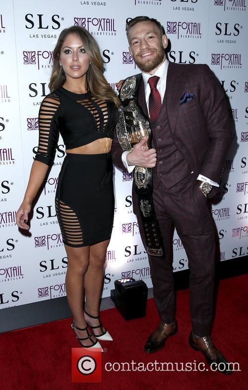 Brittney Palmer and Conor Mcgregor