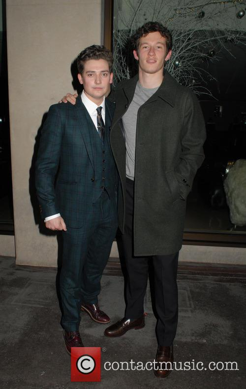 Aneurin Barnard and Callum Turner