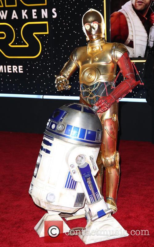 Walt Disney, R2-d2, C-3po and Star Wars 1