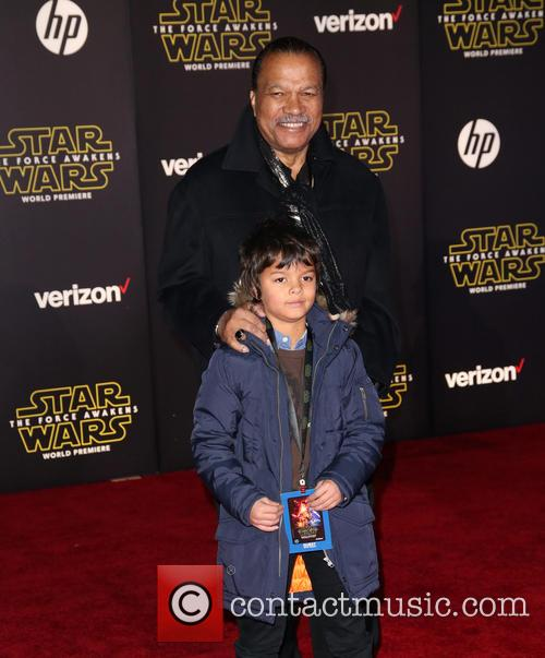 Billy Dee Williams and Finnegan