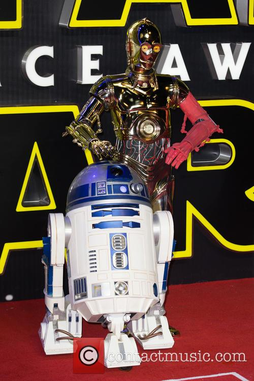 Star Wars, R2d2 and C3p0 1