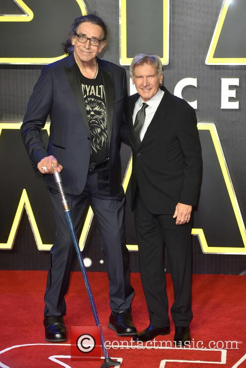 Peter Mayhew, Harrison Ford and Star Wars 1