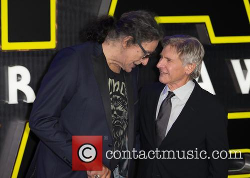 Harrison Ford and Peter Mayhew 5