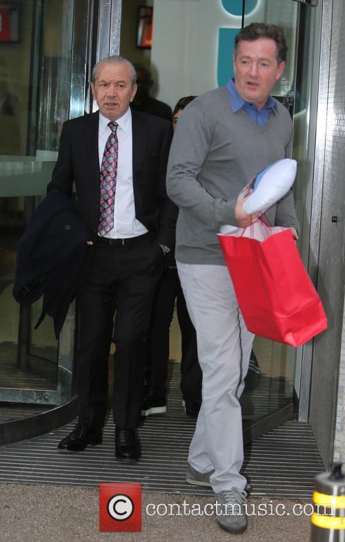 Piers Morgan and Sir Alan Sugar