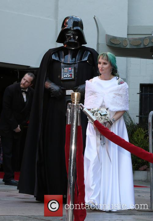 Star Wars, Caroline Ritter and Darth Vader 4