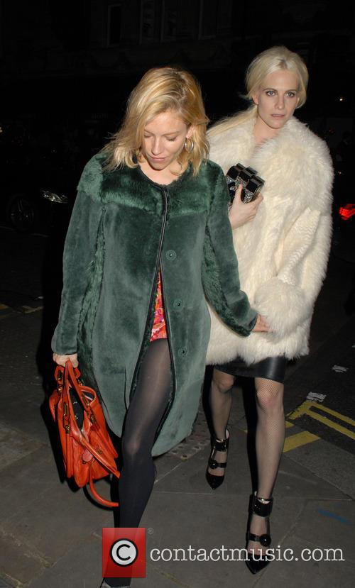Sienna Miller and Poppy Delevingne 9