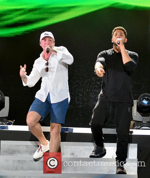 Pitbull and Jussie Smollett 11