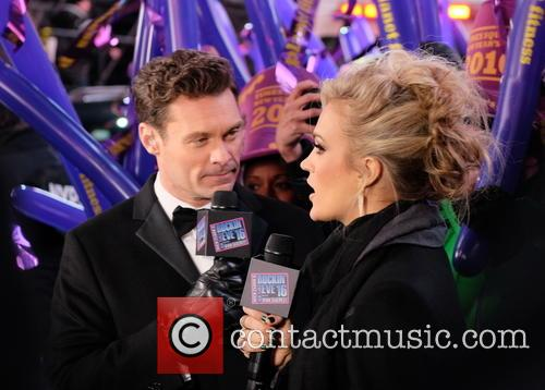 Carrie Underwood and Ryan Seacrest 5