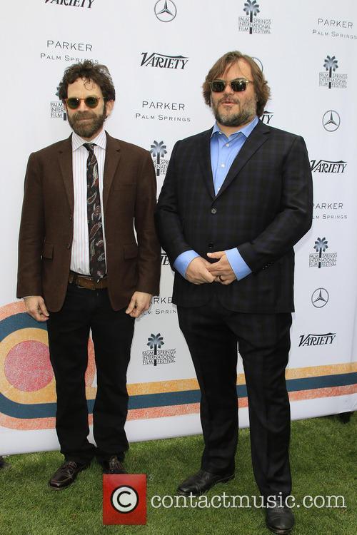 Charlie Kaufman and Jack Black