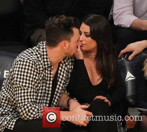 Lea Michele and Matthew Paetz
