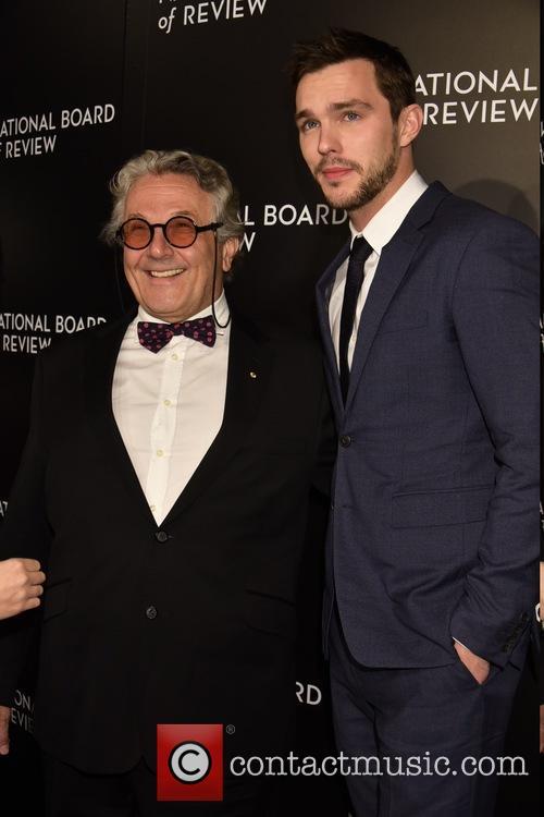 George Miller and Nicholas Hoult