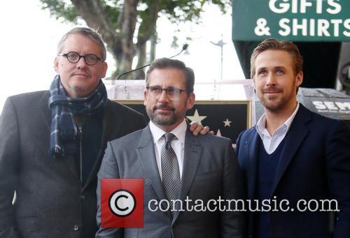 Adam Mckay, Steve Carell and Ryan Gosling 2
