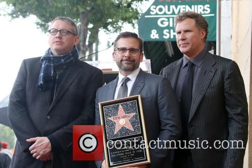 Adam Mckay, Steve Carell and Will Ferrell