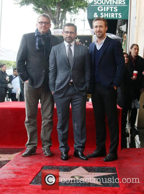 Adam Mckay, Steve Carell and Ryan Gosling