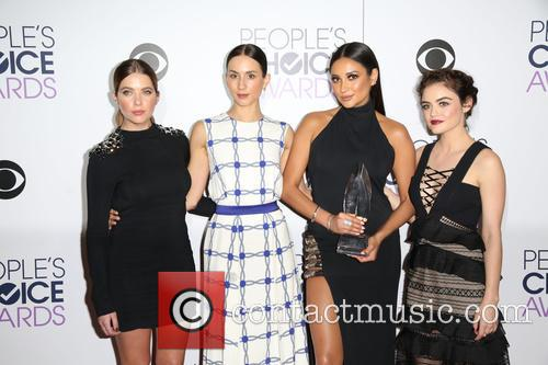 Ashley Benson, Troian Bellisario, Shay Mitchell and Lucy Hale 2