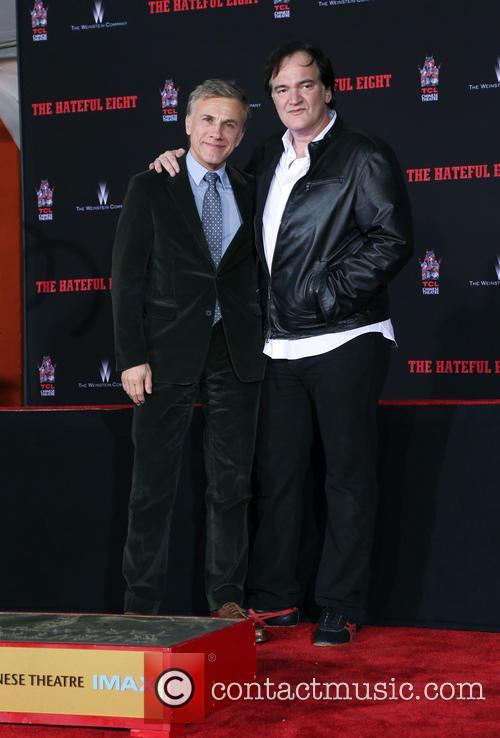 Christoph Waltz and Quentin Tarantino 6