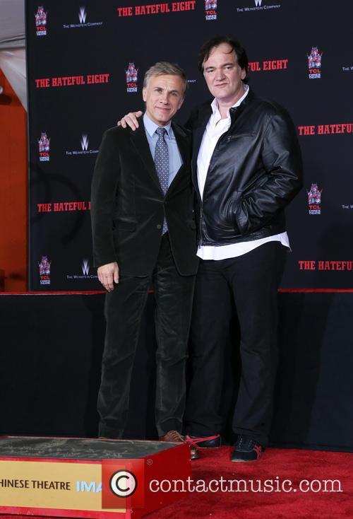 Christoph Waltz and Quentin Tarantino 7