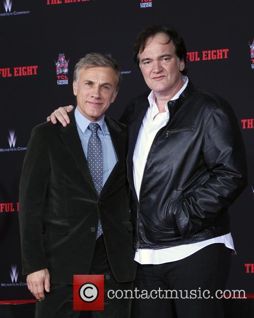 Christoph Waltz and Quentin Tarantino 9