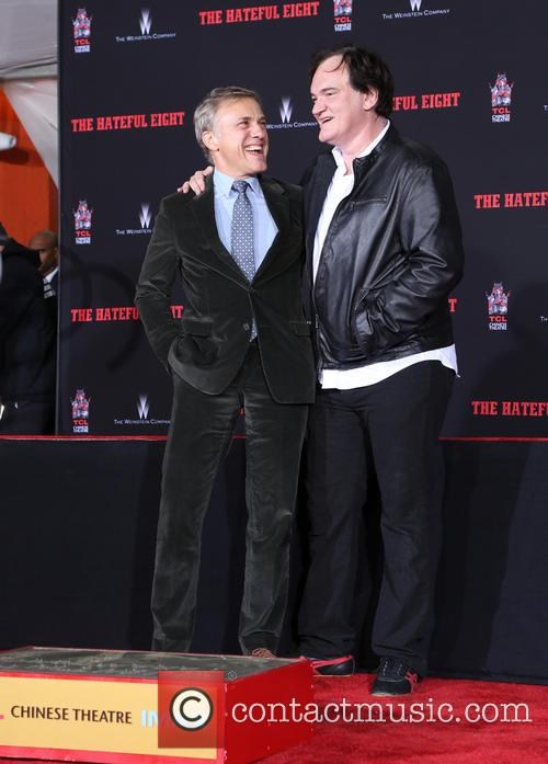 Christoph Waltz and Quentin Tarantino 10
