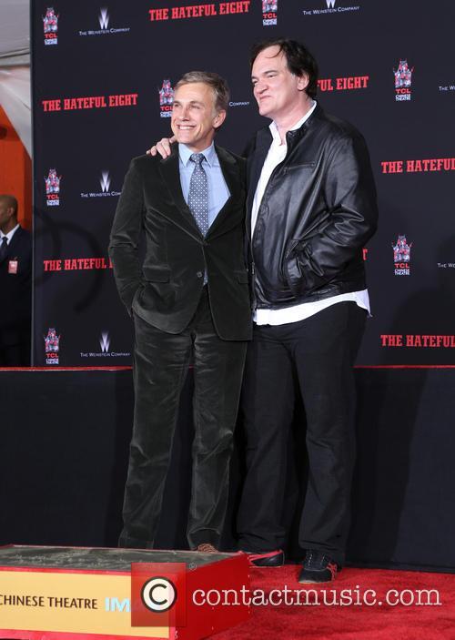 Christoph Waltz and Quentin Tarantino 11