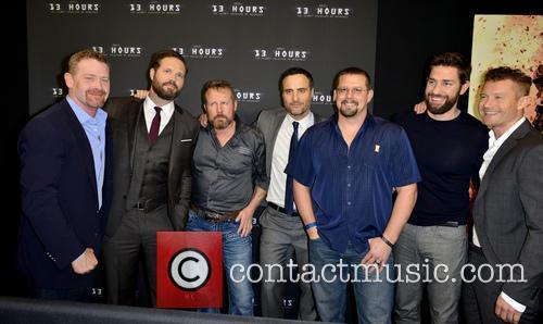 Max Martin, David Deman, Mark 'oz' Geist, Dominic Fumusa, John 'tig' Tiegen, John Krasinski and James Badge Dale