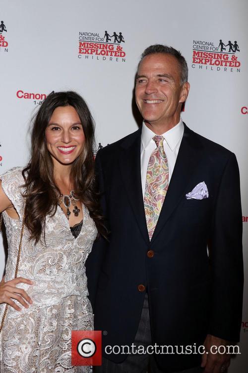 Richard Burgi and Liliana Burgi