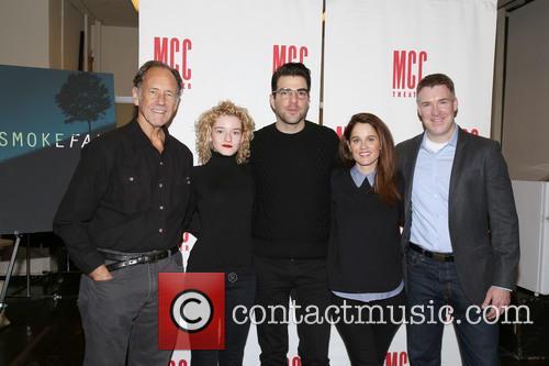 Jon Devries, Julia Garner, Zachary Quinto, Robin Tunney and Brian Hutchison