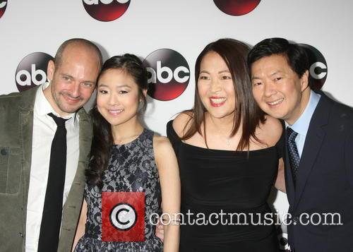 Jonathan Slavin, Krista Marie Yu, Suzy Nakamura and Ken Jeong