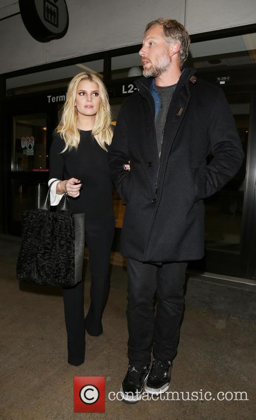 Jessica Simpson and Eric Johnson