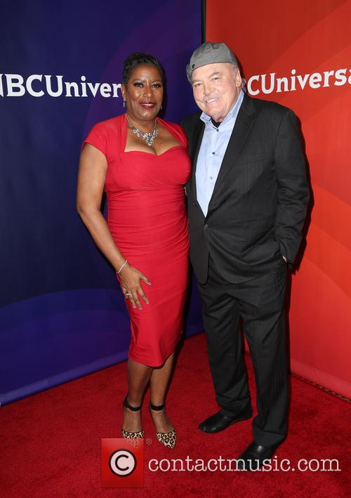 Carlease Burke and Stacy Keach