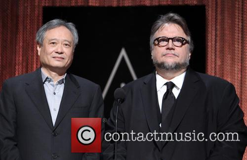 Ang Lee and Guillermo Del Toro 7