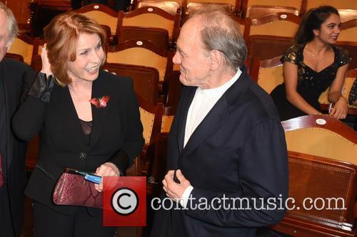 Senta Berger and Bruno Ganz