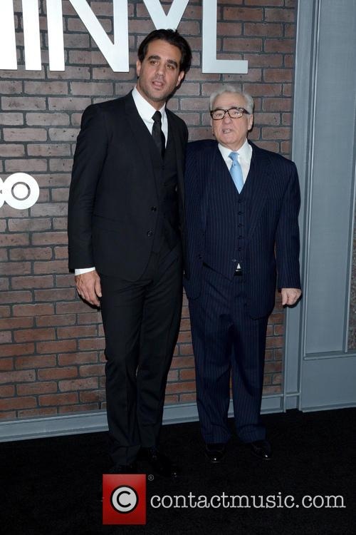 Bobby Cannavale and Martin Scorsese