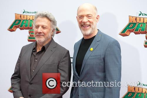 Dustin Hoffman and Jk Simmons 7