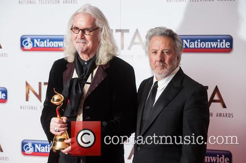Billy Connolly and Dustin Hoffman 6