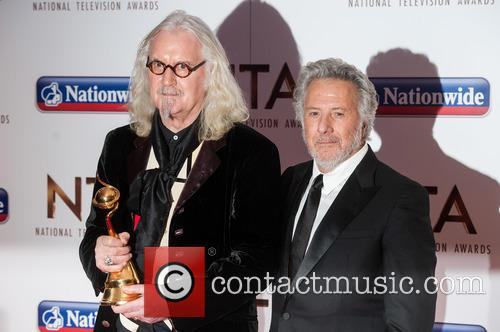 Billy Connolly and Dustin Hoffman 7